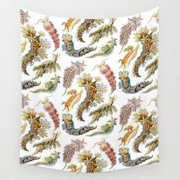 Ernst Haeckel - Nudibranchia (Snails) Wall Tapestry