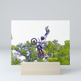 Hand Stand Pro - Freestyle Motocross Stunt Mini Art Print