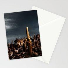 Cactus in Incahuasi island Stationery Cards