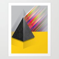 pyramid Art Prints featuring Pyramid by ohzemesmo