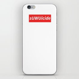 sUWUicide 3 iPhone Skin
