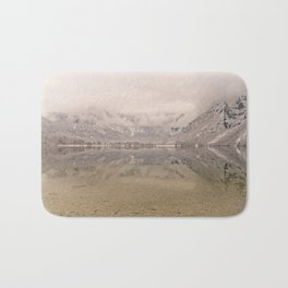 Lake Bohinj Reflection Bath Mat