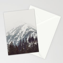 Storm in the Mountain Forest - Nature Photography Stationery Cards