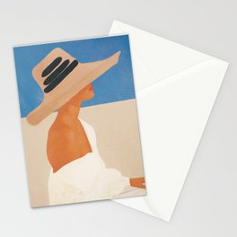 Summer Hat Stationery Cards