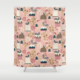 Holiday Delights Shower Curtain