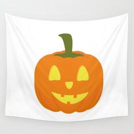 Classic light Halloween Pumpkin Wall Tapestry
