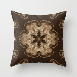 Sequential Baseline Pattern 8 Throw Pillow