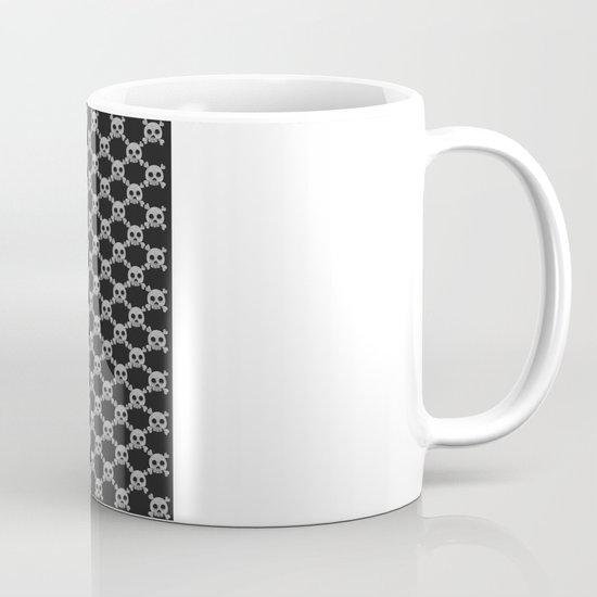 Skull Pattern Mug