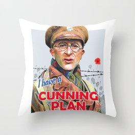 Cunning Plan Throw Pillow