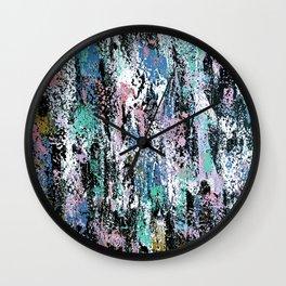 Abstract Gabrielle Wall Clock