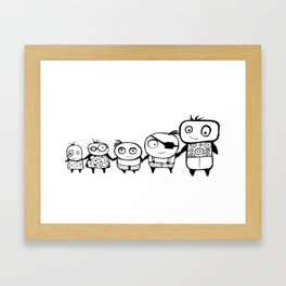 Kids Play Framed Art Print