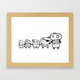 Kids Play Framed Art Print