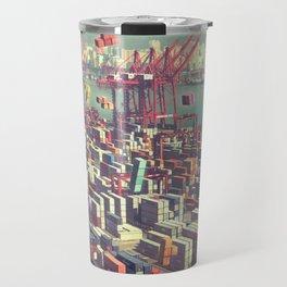 Pier Tetris Travel Mug
