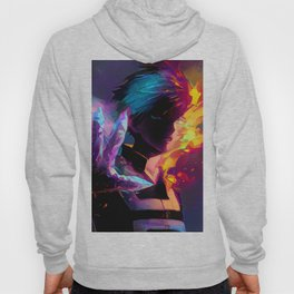 Neon Hot-Cold Hoody