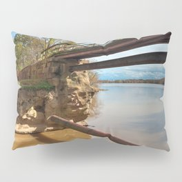 Dilapidated Lock Pillow Sham