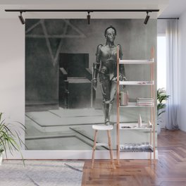 Metropolis poster print vintage photograph science fiction sci-fi cult classic film black and white movie still photograph Wall Mural