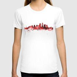 Louisville Kentucky City Skyline T-shirt
