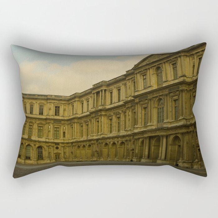 Palais du Louvre Rectangular Pillow