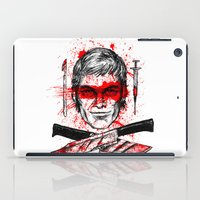 dexter iPad Cases featuring Dexter by Jonah Makes Artstuff