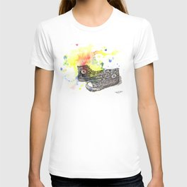 Converse Sneakers Painting T-shirt