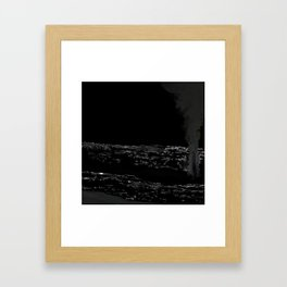 The Pupils of Panthers Closed Framed Art Print