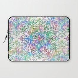 Nature Mandala in Rainbow Hues Laptop Sleeve