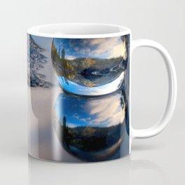 Reflections of Reflections Castle Lake in a crytsal ball photograph Coffee Mug