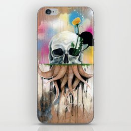 Skull Roots iPhone Skin