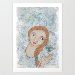 """""""I am Peace"""" by Patsy Paterno Art Print"""