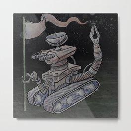 The Landing Metal Print