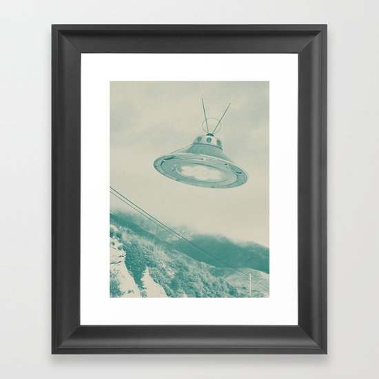 UFO II Framed Art Print