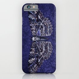 Deathshead Moth iPhone Case