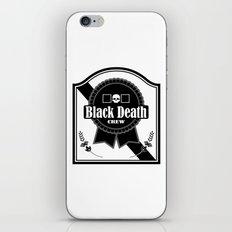 Black Death Ribbon iPhone & iPod Skin