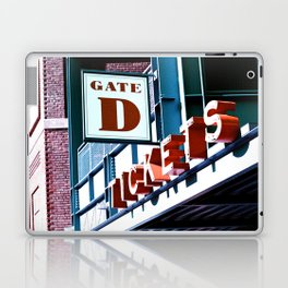 Fenway Gate D Tickets Laptop & iPad Skin