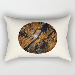 Bird's Eye View Of New York by NASA Rectangular Pillow