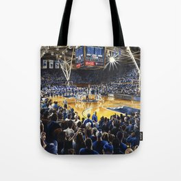 Tip-off, UNC at Duke Tote Bag