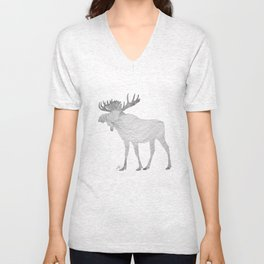 Elk Theraphy Unisex V-Neck