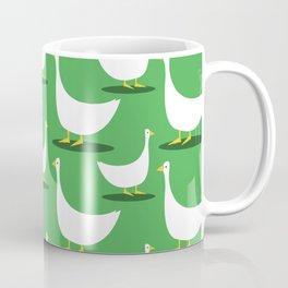 Beautiful Duck Pattern Coffee Mug
