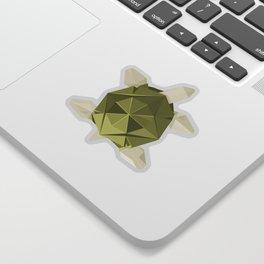 Origami Turtle Sticker