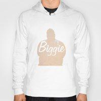 biggie Hoodies featuring Biggie by iulia pironea