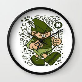 Robin Hood Kidfor animated characters comics and pop culture lovers Wall Clock
