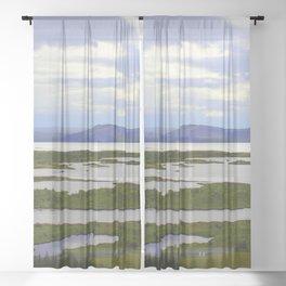 Pingvellir Sheer Curtain