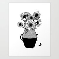 van gogh Art Prints featuring Van Gogh by Henn Kim