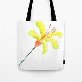 flor de cítrico Tote Bag