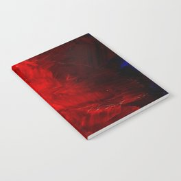 Red Abstract Paint | Corbin Henry Artist Notebook