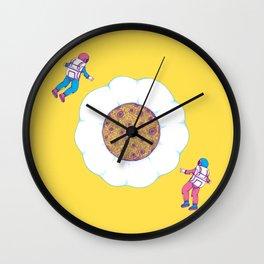 Moon Yolk Wall Clock