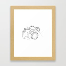 """"""" Photography Collection """" - Hand Holding Digital Camera Framed Art Print"""
