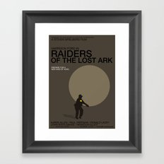 Raiders of the Lost Ark Framed Art Print