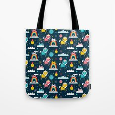 Space Unicorn Tote Bag