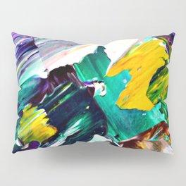 Green Intersections Pillow Sham